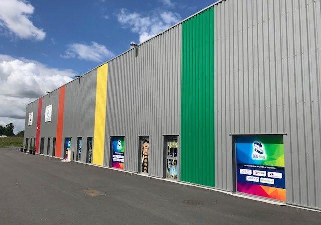 Les locaux de SIGNA France prennent des couleurs !