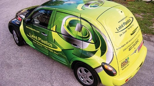 Film de finition vinyl covering voiture - Signa France