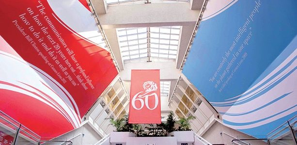 Adhésif numérique festival de Cannes - Signa France