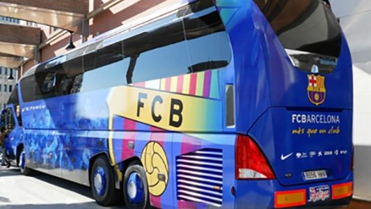 Film de finition vinyl bus FC Barcelone - Signa France