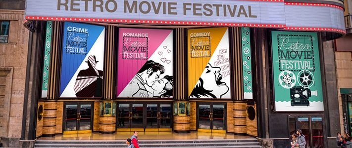 Adhésif numérique entrée salle cinéma festival - Signa France
