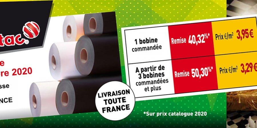 BON PLAN ! Du 7 au 25 Septembre : PROMO sur le Noir & Blanc 9800 Pro MacTac