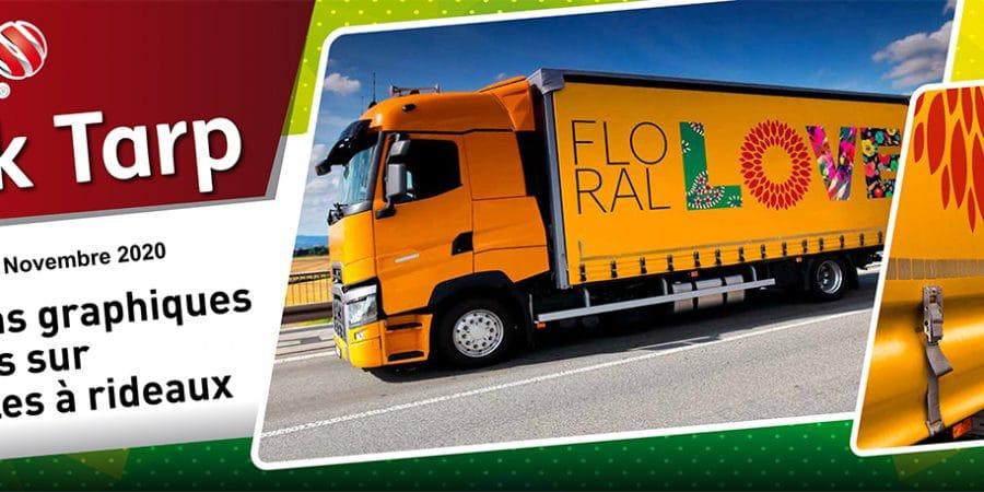 Lancement MAC TAC Novembre 2020 : Adhésif Macal Truck Tarp