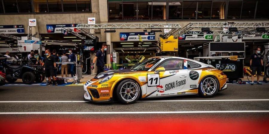 SIGNA France sur le Circuit des 24H Le Mans